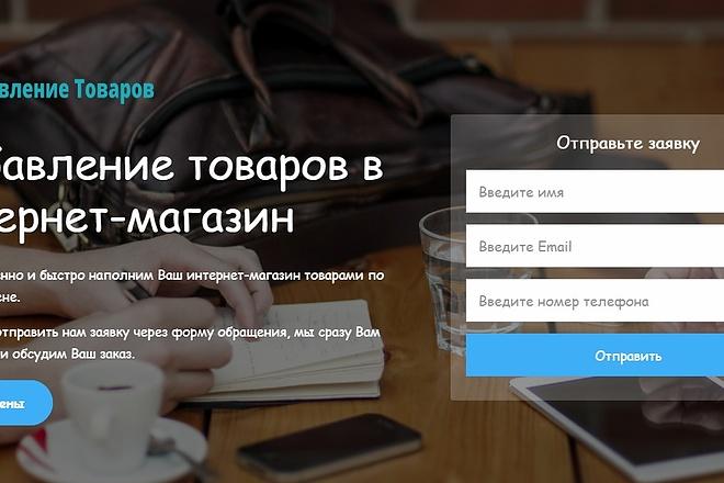 Создам лендинг пейдж 3 - kwork.ru