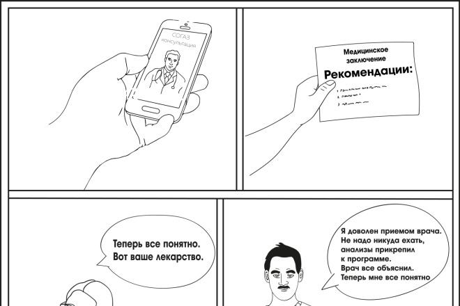 Нарисую любую иллюстрацию в стиле doodle 9 - kwork.ru