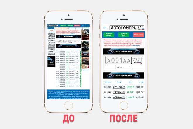 Адаптация сайта под все разрешения экранов и мобильные устройства 5 - kwork.ru