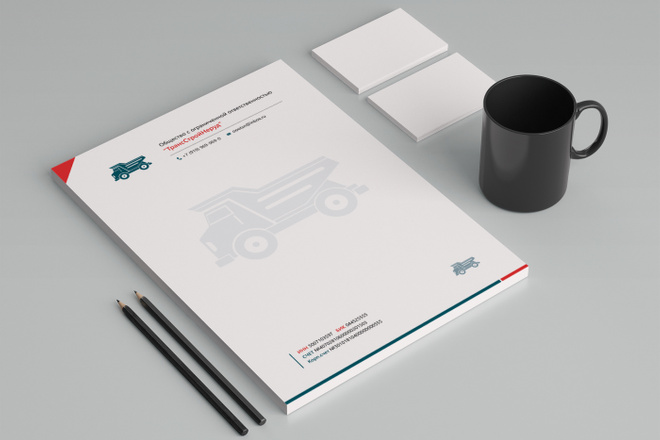 Создам фирменный стиль бланка 70 - kwork.ru