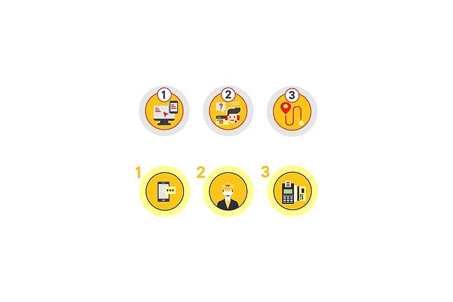 Создам 5 иконок в любом стиле, для лендинга, сайта или приложения 35 - kwork.ru