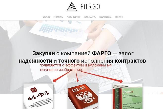 Лендинг для любых целей на Wordpress 47 - kwork.ru