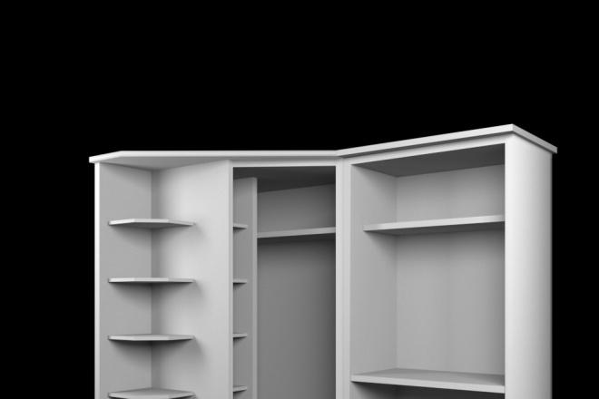 Создам трехмерную модель в формате OBJ 16 - kwork.ru