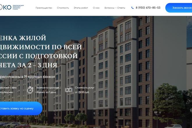 Сделаю классный Лендинг на Elementor Pro 16 - kwork.ru