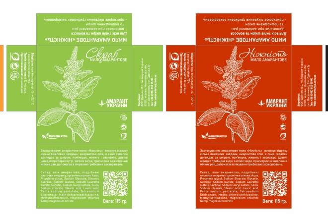 Разработка дизайна упаковки, подготовка макетов к печати 2 - kwork.ru