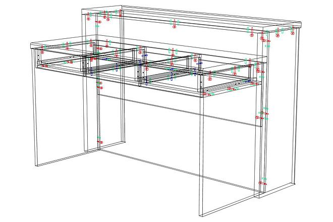 Конструкторская документация для изготовления мебели 90 - kwork.ru