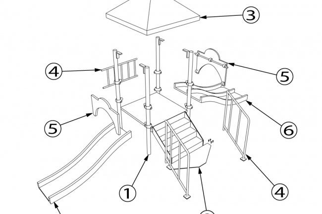 Схема, инструкция сборки мебели 27 - kwork.ru