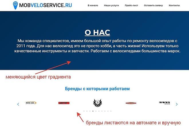 Лендинг для любых целей на Wordpress 49 - kwork.ru