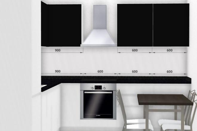 Создам 3D дизайн-проект кухни вашей мечты 7 - kwork.ru