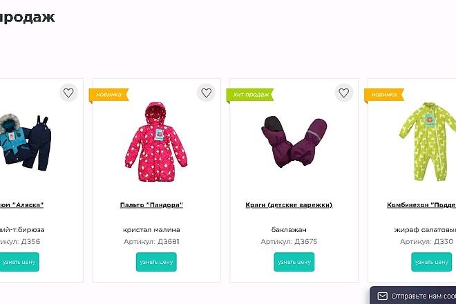 Онлайн-магазин под ключ 8 - kwork.ru