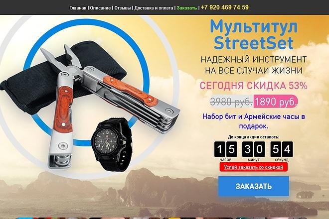Скопирую Landing Page, Одностраничный сайт 48 - kwork.ru