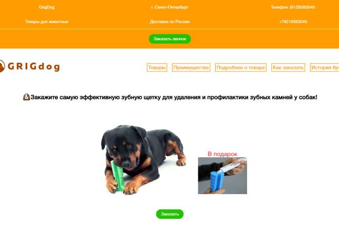 Вёрстка вашего сайта на чистом HTML и CSS 3 - kwork.ru