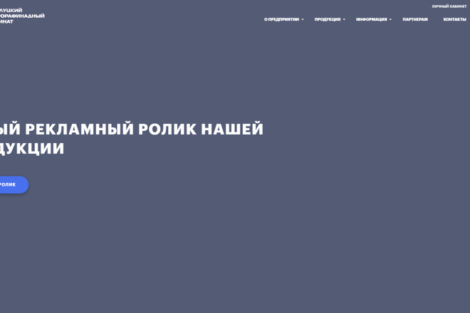 Скопирую почти любой сайт, landing page под ключ с админ панелью 42 - kwork.ru