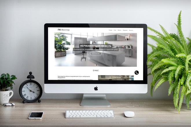 Создам современный адаптивный landing на Wordpress 20 - kwork.ru