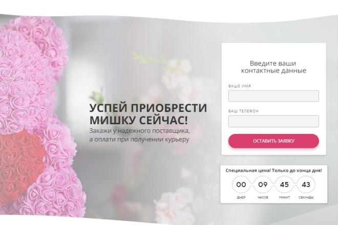 Сделаю копию Landing Page c настройкой 4 - kwork.ru