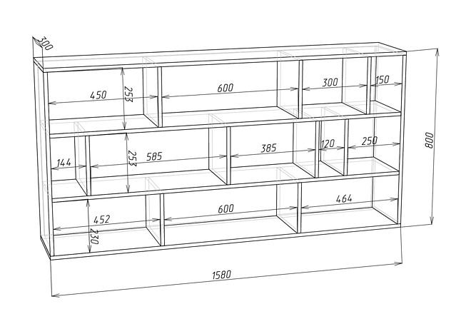 Конструкторская документация для изготовления мебели 74 - kwork.ru