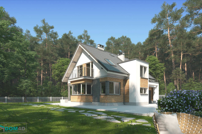 Качественная 3D визуализация фасадов домов 2 - kwork.ru