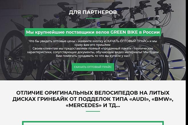 Сайт под ключ. Landing Page. Backend 141 - kwork.ru