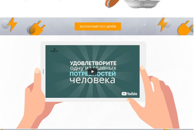 Создание красивого адаптивного лендинга на Вордпресс 60 - kwork.ru
