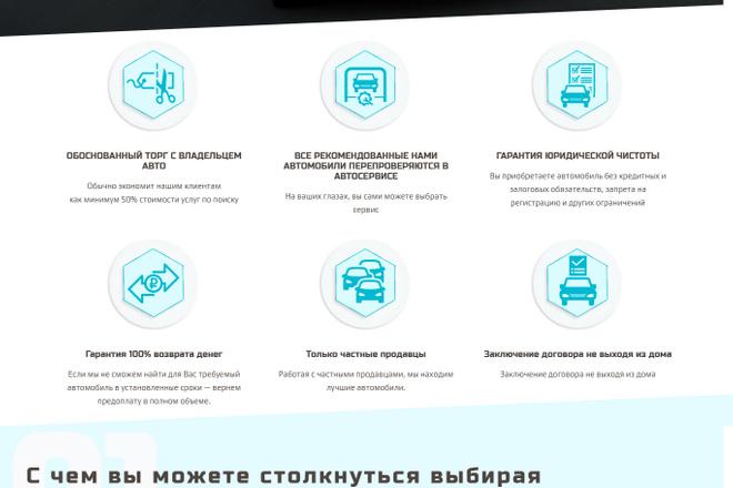 Создание красивого адаптивного лендинга на Вордпресс 54 - kwork.ru