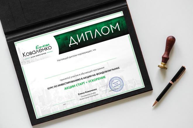 Дизайн двухсторонней листовки с исходниками 21 - kwork.ru