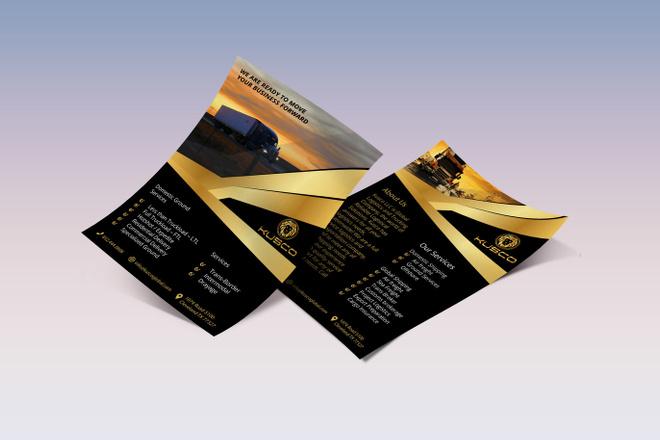 Дизайн листовки, флаера 14 - kwork.ru