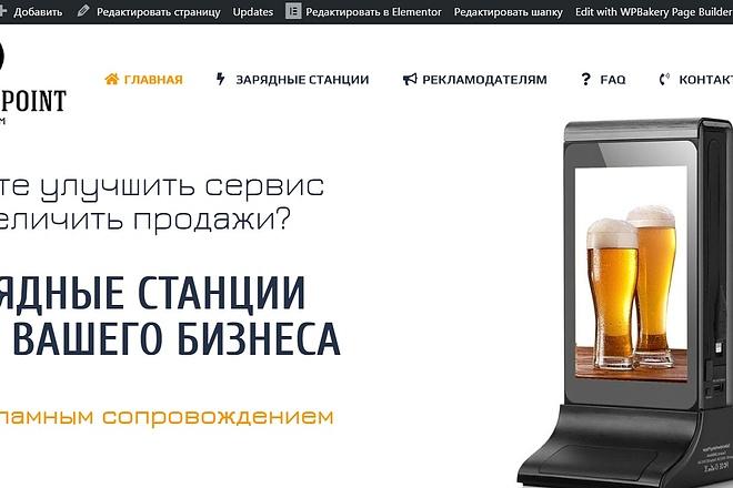 Создам лендинг на вордпресс 31 - kwork.ru