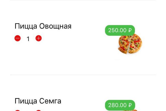 Разработка мобильного приложения под ключ 3 - kwork.ru