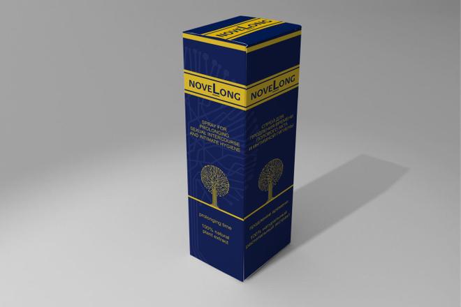 Создам дизайн простой коробки, упаковки 13 - kwork.ru