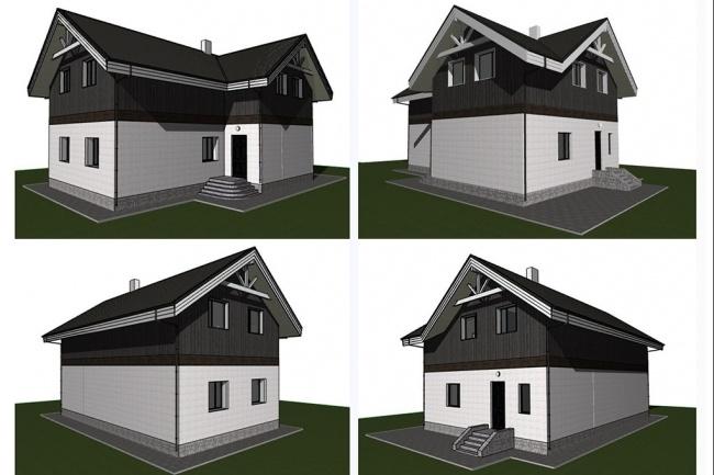 Проектирование деревянных конструкций 3 - kwork.ru