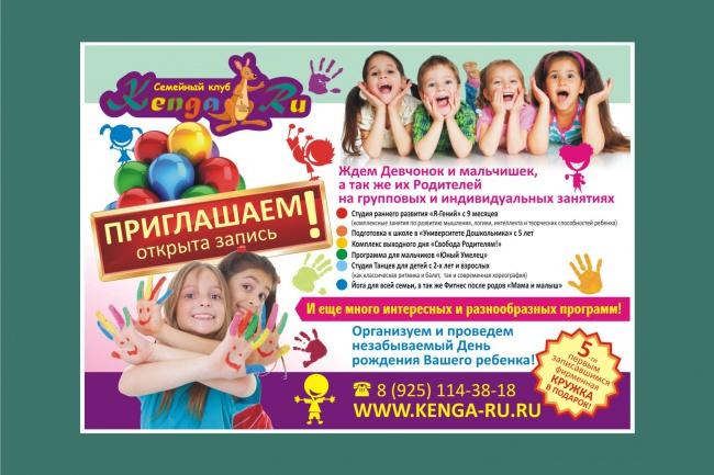 Постер, плакат, афиша 26 - kwork.ru