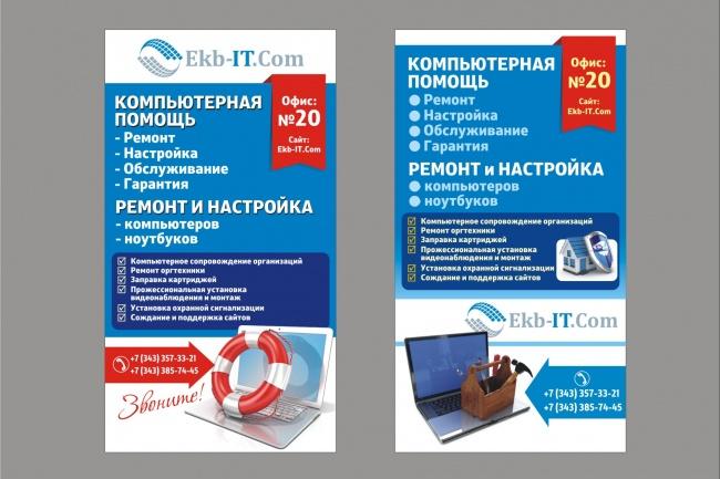 Постер, плакат, афиша 23 - kwork.ru