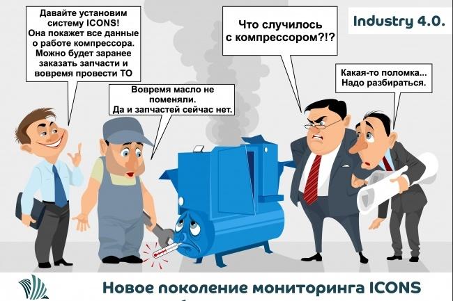 Иллюстрации, рисунки, комиксы 60 - kwork.ru