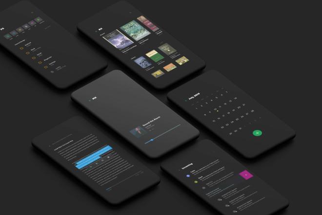 Разработка дизайна мобильного приложения. Эконом вариант 1 - kwork.ru