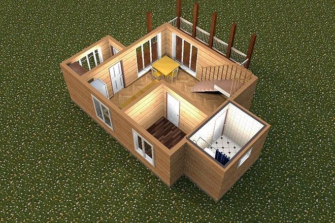 3D визуализация помещений 15 - kwork.ru
