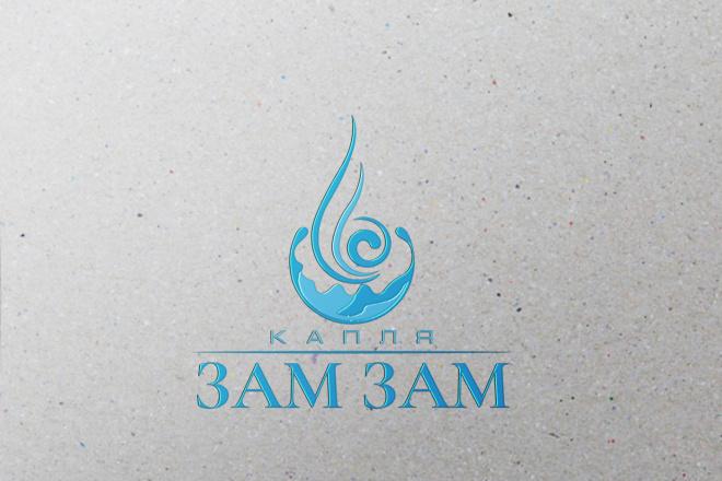 Создам строгий логотип в трех вариантах 8 - kwork.ru