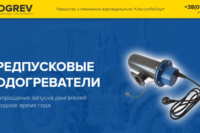 Качественная копия лендинга с установкой панели редактора 36 - kwork.ru