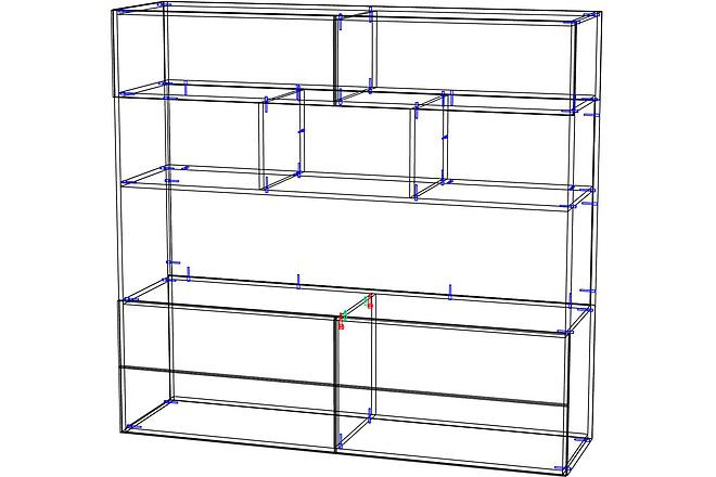 Конструкторская документация для изготовления мебели 102 - kwork.ru