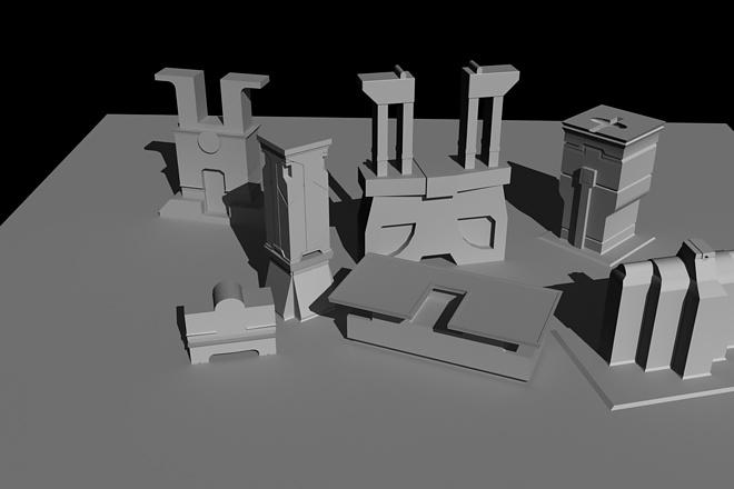 Создам трехмерную модель в формате OBJ 27 - kwork.ru