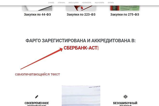 Лендинг для любых целей на Wordpress 46 - kwork.ru