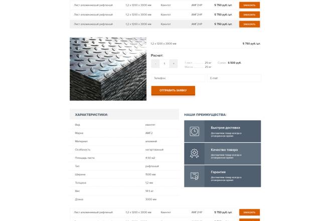 Дизайн страницы Landing Page - Профессионально 19 - kwork.ru