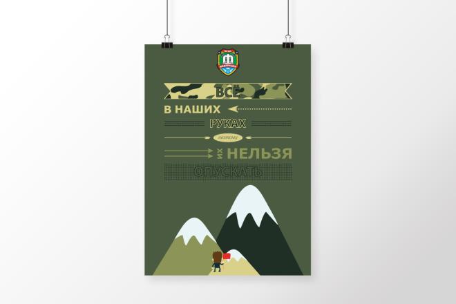 Разработаю дизайна постера, плаката, афиши 11 - kwork.ru