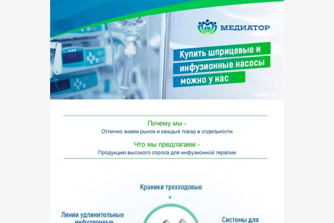 Создание и вёрстка HTML письма для рассылки 9 - kwork.ru