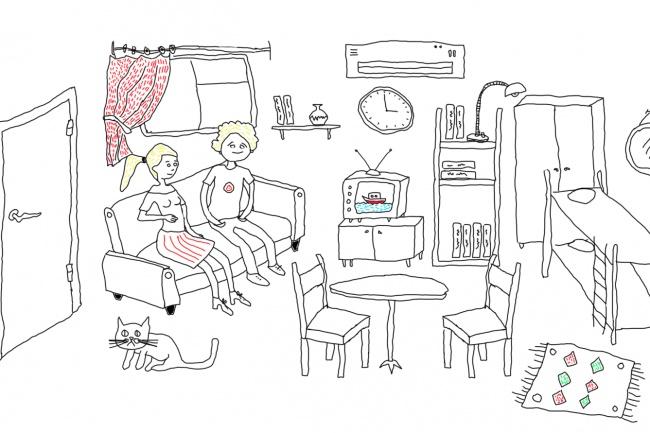 Быстро нарисую веселые иллюстрации 67 - kwork.ru