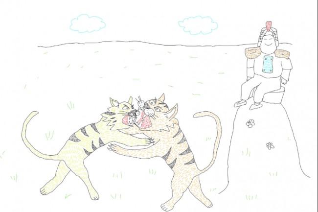 Быстро нарисую веселые иллюстрации 26 - kwork.ru