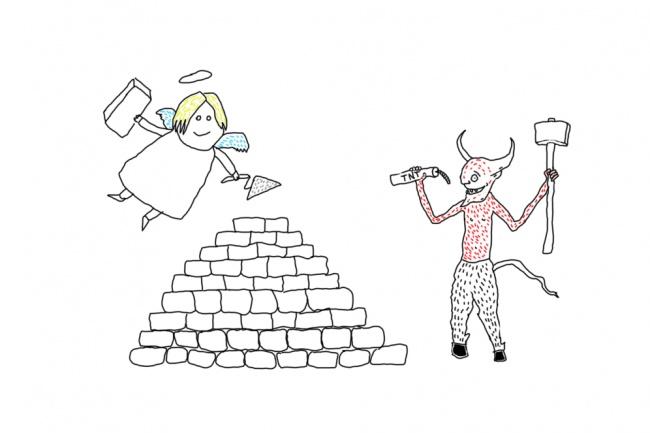 Быстро нарисую веселые иллюстрации 66 - kwork.ru