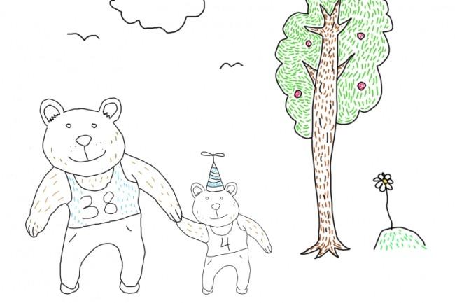 Быстро нарисую веселые иллюстрации 23 - kwork.ru