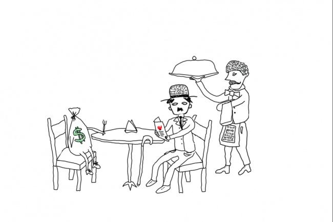 Быстро нарисую веселые иллюстрации 62 - kwork.ru