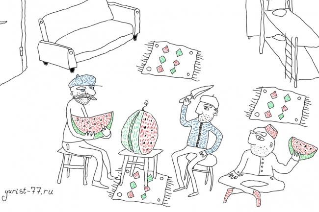 Быстро нарисую веселые иллюстрации 50 - kwork.ru