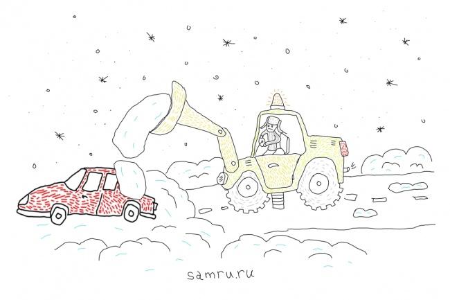 Быстро нарисую веселые иллюстрации 44 - kwork.ru